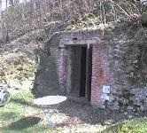 Vchod do Pivovarských sklepů v místě kde stal knížecí pivovar