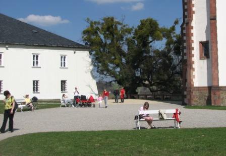 Zámecký park u Bílé věže